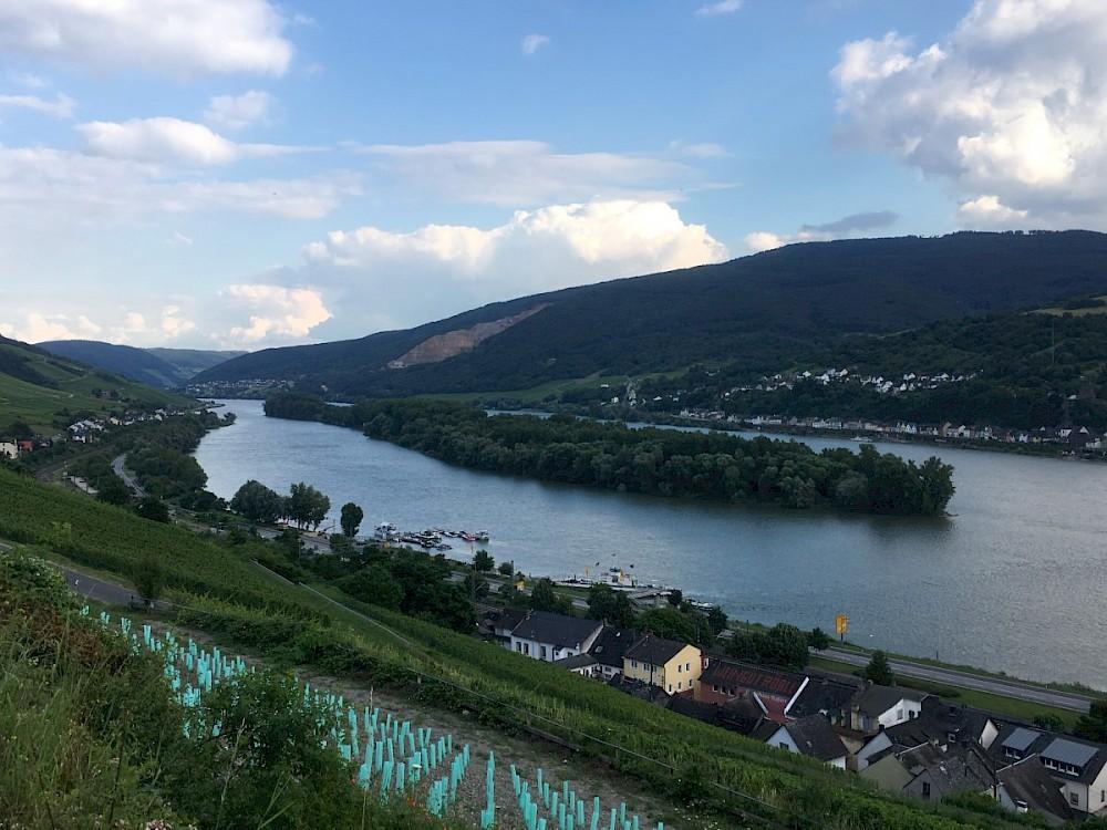 Radtour Rheingau